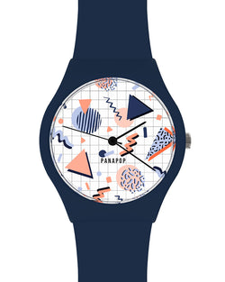 complemento reloj mujer azul psyched