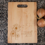 Dandelion Love Cutting Board - Cutting Board - Epic Goodies Shop