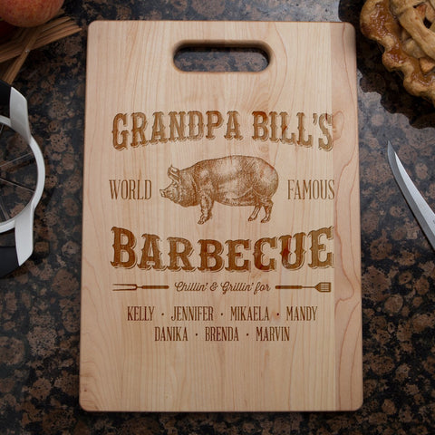 Grandpa's Barbecue Cutting Board - Cutting Board - Epic Goodies Shop