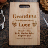 Another Word For Love Cutting Board - Cutting Board - Epic Goodies Shop