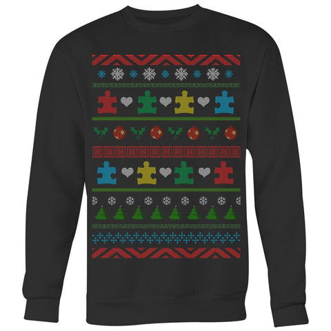 Autism Pine Trees - Ugly Sweater - T-shirt - Epic Goodies Shop