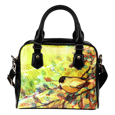 Nature Bird - Leather Hand Bag - Bags - Epic Goodies Shop