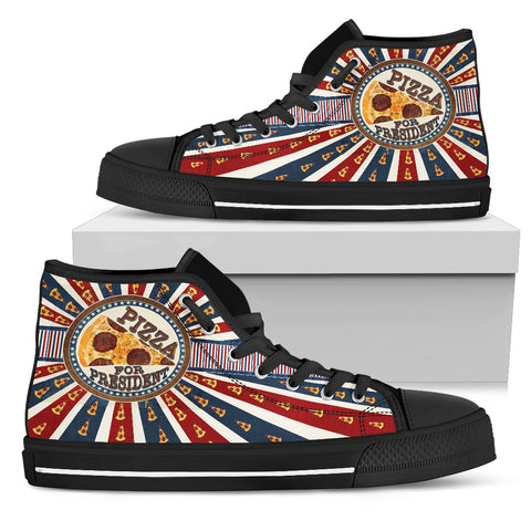 Pizza President - Men's High Tops - Shoes - Epic Goodies Shop