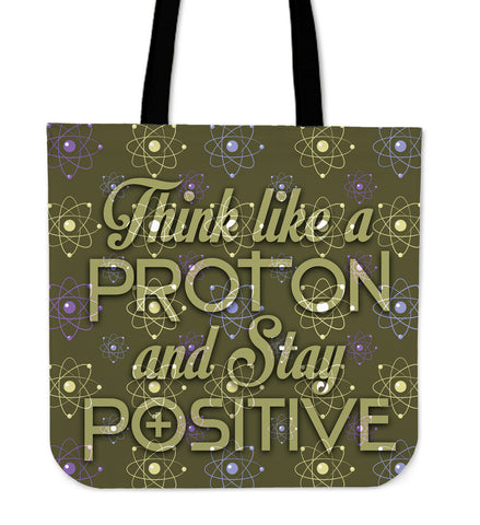 Science Protons and Positive Tote Bags - Teacher - Bags - Epic Goodies Shop
