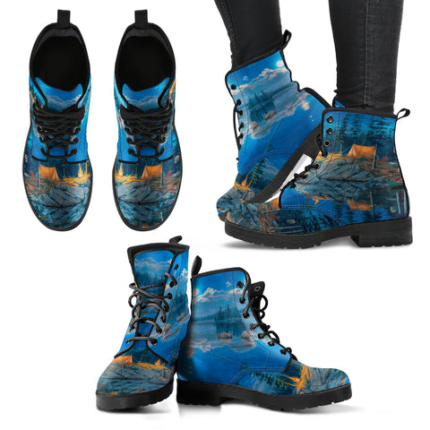 Morning Views Campers - Women's Boots - Shoes - Epic Goodies Shop