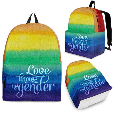 Love Knows No Gender Bags - LGBT