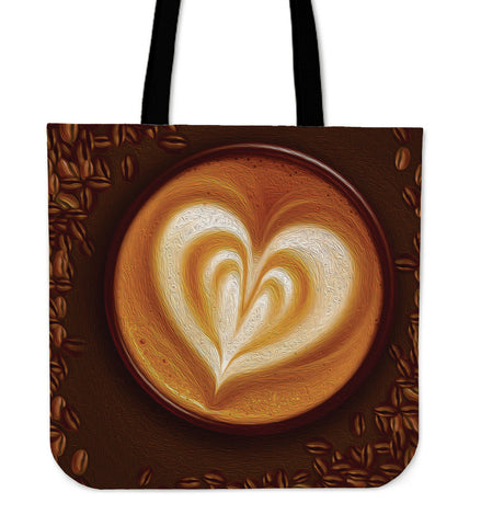 Coffee with Love - Tote Bag - Bags - Epic Goodies Shop