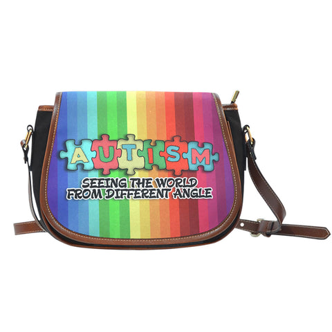 Seeing the World Saddle bag - Autism