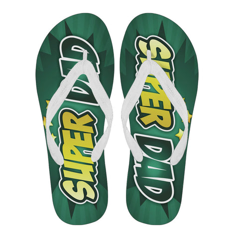 Super Dad - Flip Flops - Flip-Flops - Epic Goodies Shop