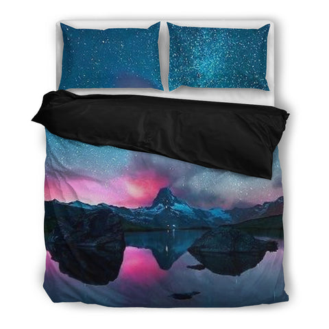 Teal Dimension - Galaxy Bedding Set - Bedding Set - Epic Goodies Shop
