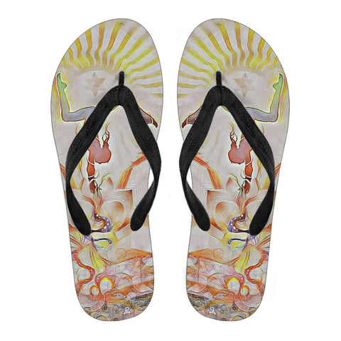 Sunshine Aura - Flip Flops - Flip-Flops - Epic Goodies Shop