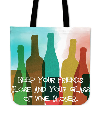 Wine Closer - Cloth Tote