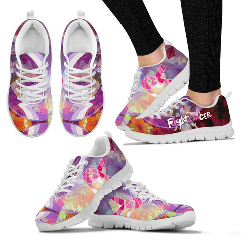 I Can Fight Cancer - Womens Runners - Shoes - Epic Goodies Shop