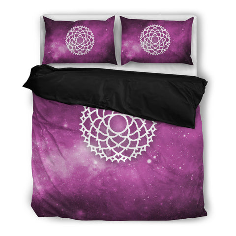 Starry Chakra Purple - Bedding Set - Bedding Set - Epic Goodies Shop