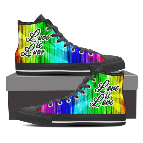 Love Is Love - High Tops