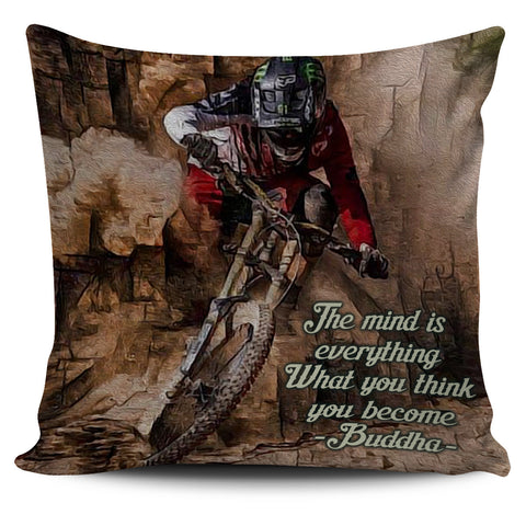 Cycling Pillow Cover - Pillow Covers - Epic Goodies Shop