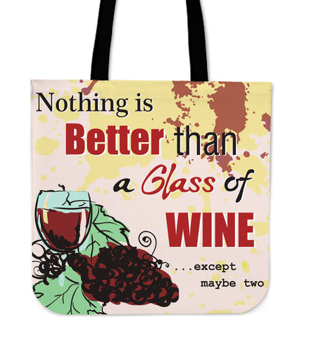 Wine Better Cloth Totes