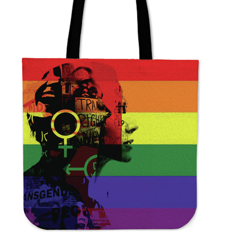 Silhouette Tote Bag - LGBT - Bags - Epic Goodies Shop