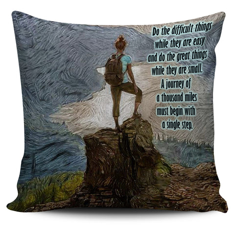 HIKING  - Pillow Cover