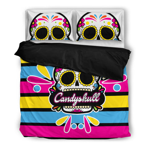 Tattoo Sweets - Sugar Skull Bedding Set - Bedding Set - Epic Goodies Shop