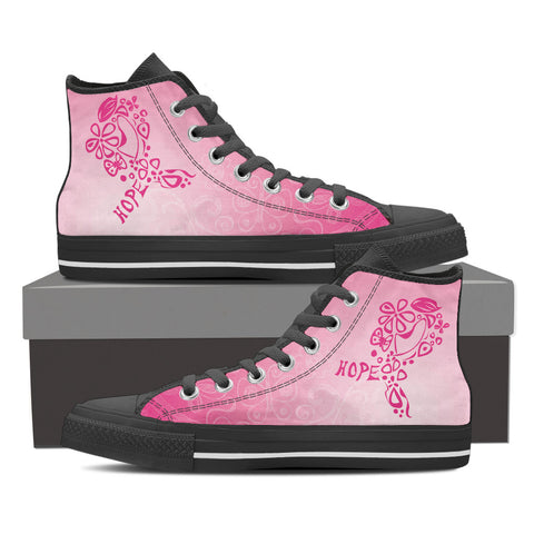 Ribbon Typography High top - Women's - Shoes - Epic Goodies Shop