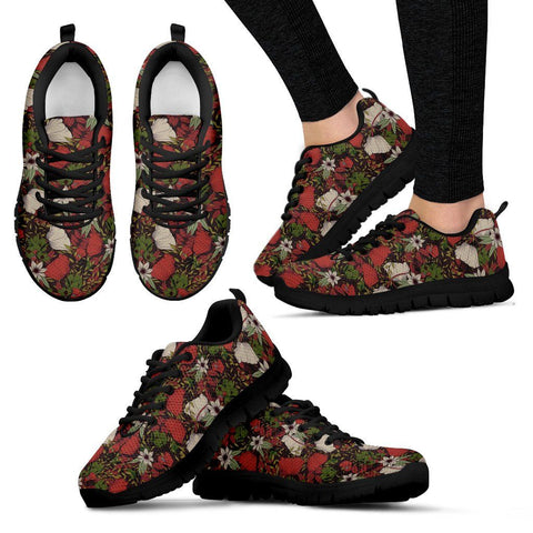 Artsy Series Floral Gaze - Women's Sneakers - Shoes - Epic Goodies Shop