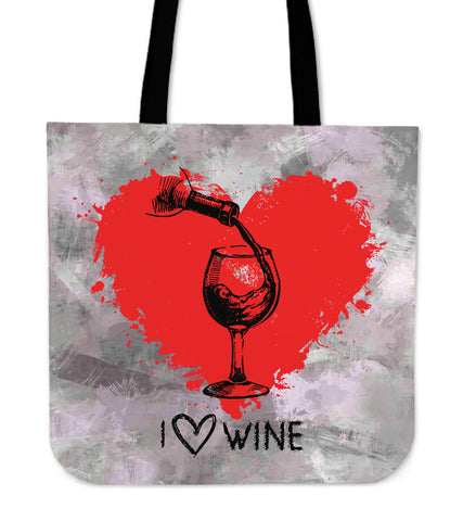 Wine Heart - Cloth Tote