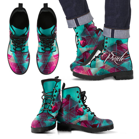 LGBT Rave Pride - Men's Boots - Shoes - Epic Goodies Shop