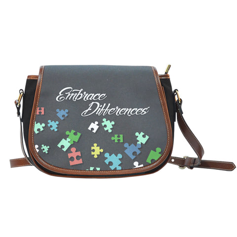 Embrace Saddle Bag - Austism - Bags - Epic Goodies Shop