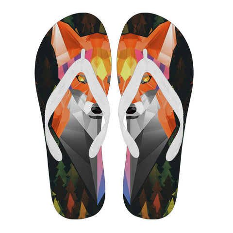 Flip-lops Geometric Fox - Flip-Flops - Epic Goodies Shop