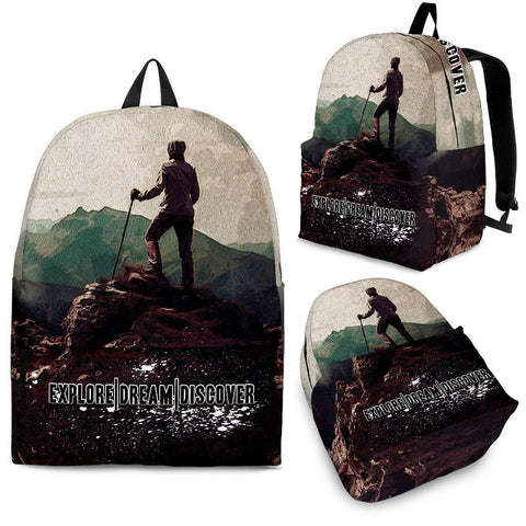 Explore. Dream. Discover - Backpack - Bags - Epic Goodies Shop