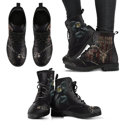 Hunters Live Free - Women's Boots - Shoes - Epic Goodies Shop