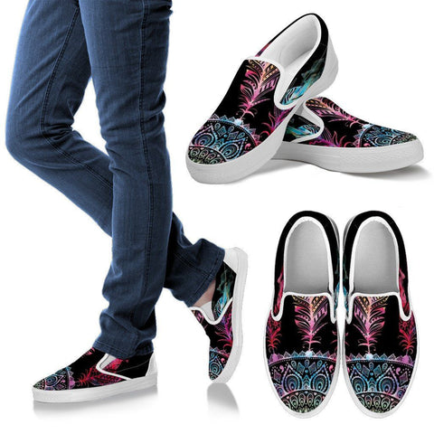 Mandala Slip Ons - Dream Catcher - Shoes - Epic Goodies Shop