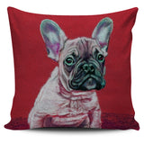 Dog Fluffy Series Pillow Cover - A