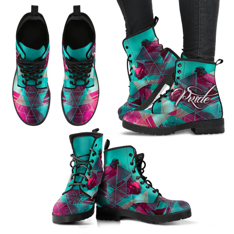 Rave Pride LGBT - Women's Boots - Shoes - Epic Goodies Shop