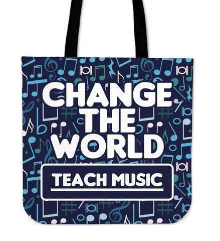 Music Change Tote bags - Teachers - Bags - Epic Goodies Shop