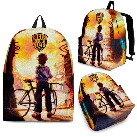Biker For Life - Backpack