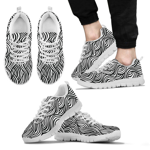 Black and White Series II - Men's Sneaker - Shoes - Epic Goodies Shop