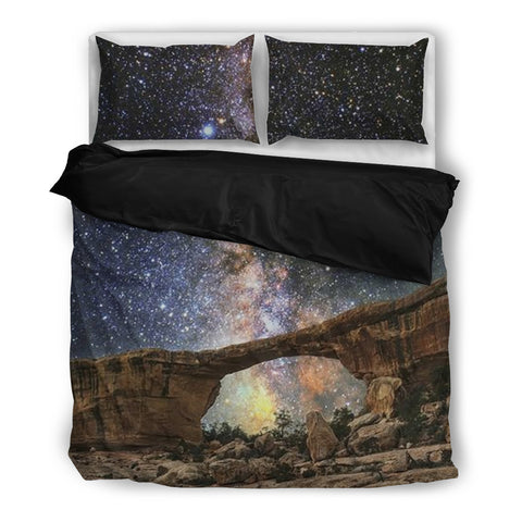 Space Bridge - Galaxy Bedding Set - Bedding Set - Epic Goodies Shop