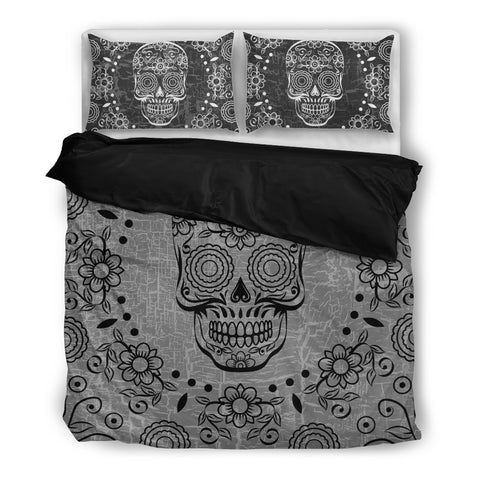 Tattoo Silence - Sugar Skull Bedding Set - Bedding Set - Epic Goodies Shop