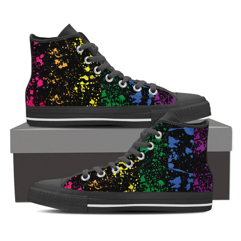 Colors Splash - High Tops - Shoes - Epic Goodies Shop