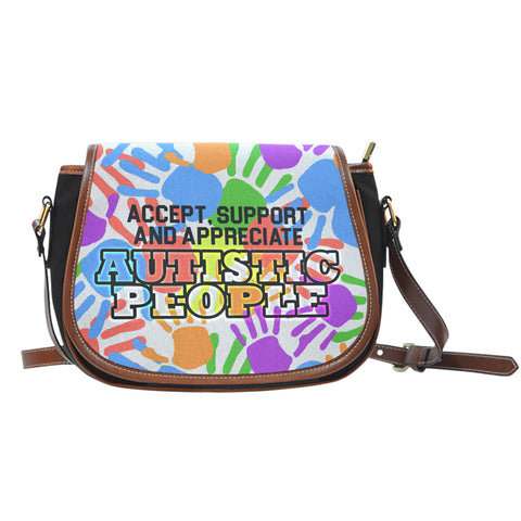 Autism Support - Saddle Bag