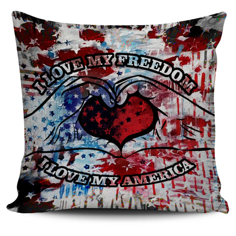 I Love My Freedom - Pillow Cover