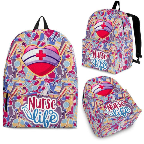 Nurse Pink Life - Backpack