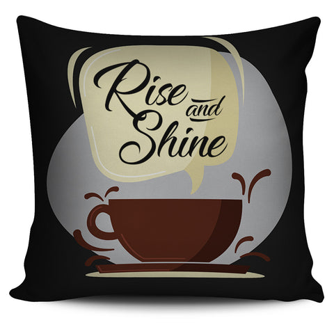 Rise and Shine - Pillow Cover