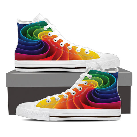 Spiral Colors - High Tops - Shoes - Epic Goodies Shop
