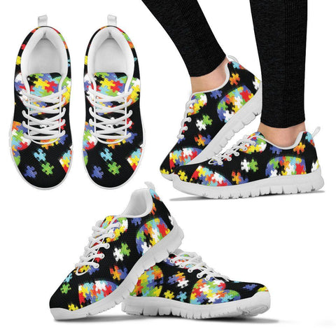 Autism Puzzles - Women's Sneaker - Shoes - Epic Goodies Shop