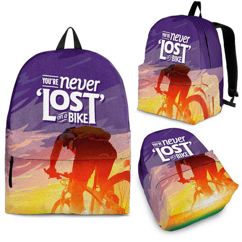 Never Lost On A Bike - Bags - Epic Goodies Shop