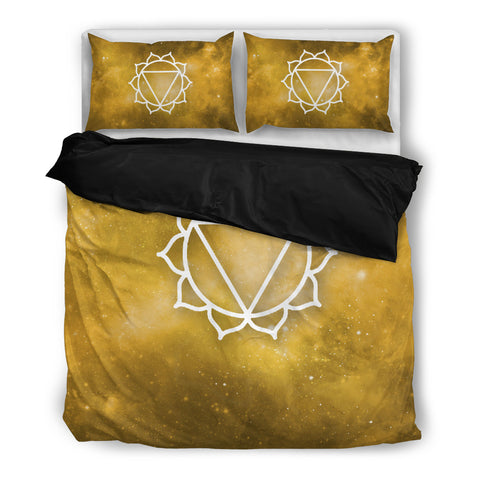 Starry Chakra Yellow - Bedding Set - Bedding Set - Epic Goodies Shop