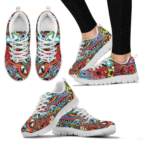 Artsy Series Freaky Doodle - Womens - Shoes - Epic Goodies Shop